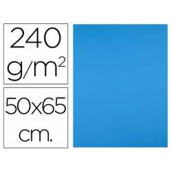 Cartulina Liderpapel Azul Turquesa 50x65 cm 240 gr Paquete 25 unidades