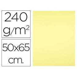 Cartulina Liderpapel Amarillo Medio 50x65 cm 240 gr 25 unidades