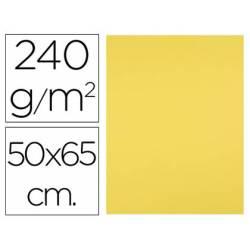 Cartulina Liderpapel Amarillo Limón 50x65 cm 240 gr 25 unidades