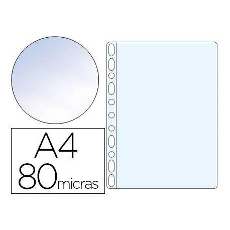 Funda Multitaladro Esselte A4 Cristal 11 taladros 80 MC