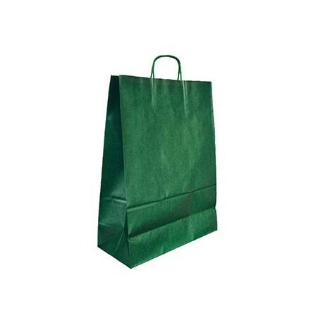 Bolsa Kraft Q-connect Verde 270x120x360 mm