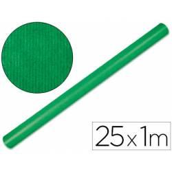 Bobina Papel Kraft Liderpapel 25x1 m Verde fuerte