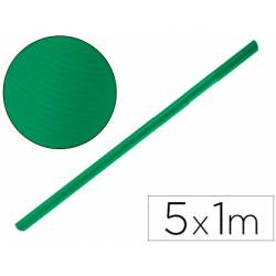 Bobina Papel Kraft Liderpapel 5x1 m Verde fuerte