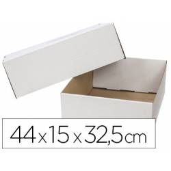 Caja para Embalar Q-Connect 44x15x32,5 cm con Tapa Doble Canal