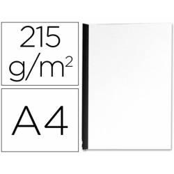 Tapa de Encuadernacion Carton Q connect Din A4 Blanco Brillante 215gr pack 100 uds