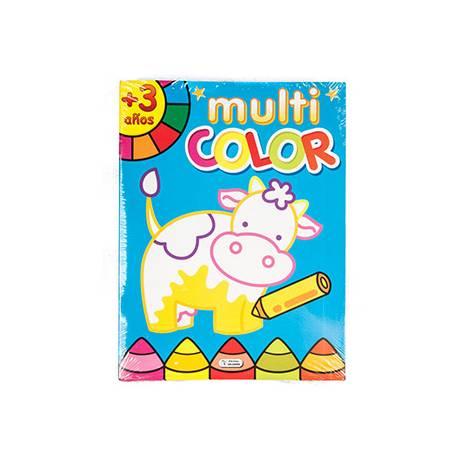 Cuaderno de Colorear Multicolor