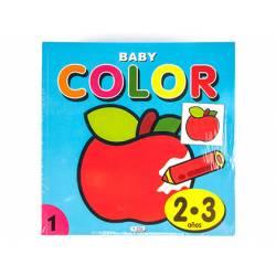 Cuaderno de Colorear Baby Color 2 a 3 años
