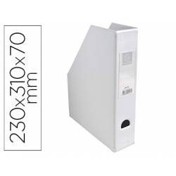 Revistero Plastico Exacompta Blanco 310x230x70 mm