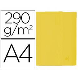 Subcarpeta Cartulina Reciclada A4 Exacompta con bolsa Amarillo 290 gr