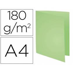 Subcarpeta Cartulina Reciclada A4 Exacompta Verde 170 gr