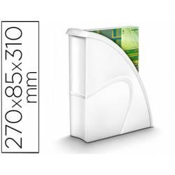 Revistero plástico CEP Blanco 85X270X310 mm