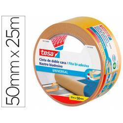 Cinta adhesiva Tesa Doble cara Universal 25m x 50mm