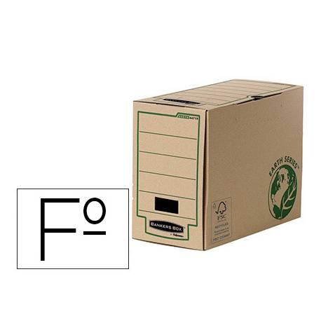 Caja Archivo Definitivo Fellowes Reciclado Folio 150 mm