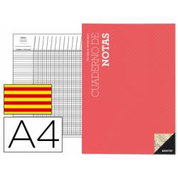 Cuaderno de notas de profesor catalan A4