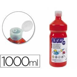 Tempera Liderpapel rojo 1000 cc