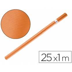 Bobina papel kraft Liderpapel 25 x 1 m naranja