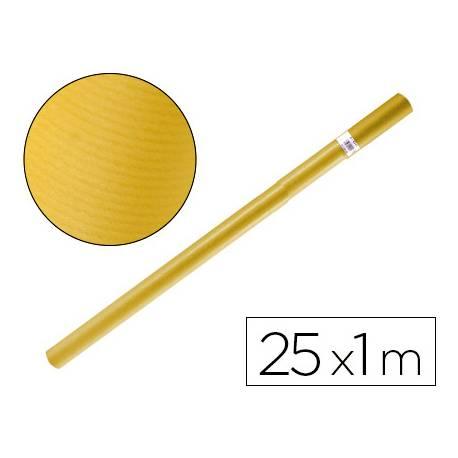 Bobina papel kraft Liderpapel 25 x 1 m amarillo