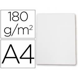 Subcarpeta cartulina Gio Din A4 blanca 180 g/m2