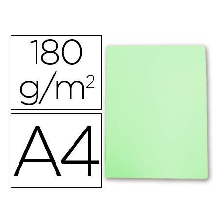 Subcarpeta cartulina Gio Din A4 verde pastel 180 g/m2