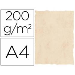 Cartulina pergamino DIN A4 beige marmol