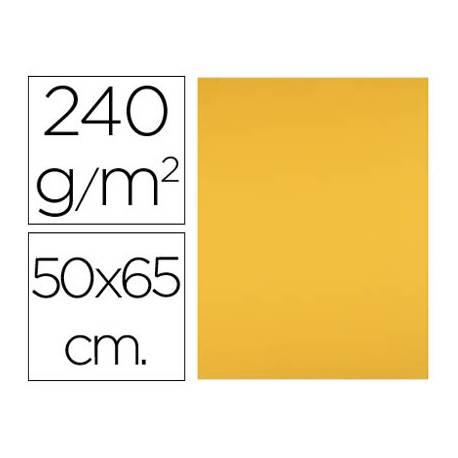 Cartulina Liderpapel 240 g/m2 oro viejo