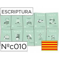 Cuaderno Rubio Escriptura nº 010 Dibujos para seguir y colorear Catalán