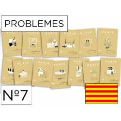 Cuaderno Rubio Problemes nº 7 Sumar y restar sin llevar Catalán