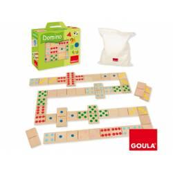 Juego educativo a partir de 1 año Domino Topycolor Goula