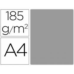 Cartulina Guarro din A4 gris perla 185 gr paquete 50 hojas