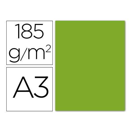 Cartulina Guarro verde amazona