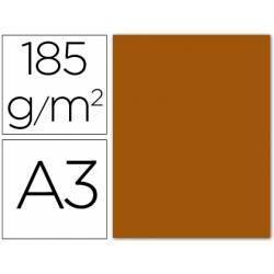 Cartulina Guarro marrón chocolate