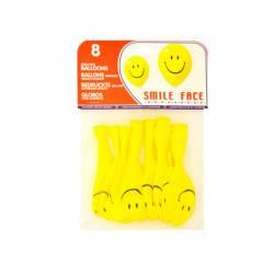 Globos hinchables cara sonriente