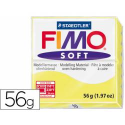 Pasta para modelar Staedtler Fimo Soft color amarillo limon