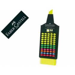 Rotulador Faber fluorescente 48 colores surtidos