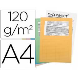 Subcarpeta cartulina Q-connect Din A4 colores surtidos paquete 25