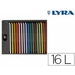 Lapices de colores Lyra color stripe