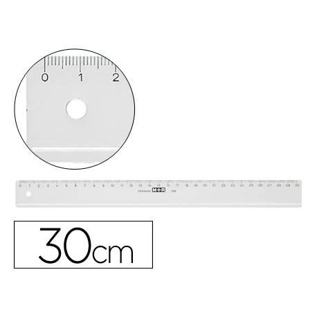 Regla de plastico M+R de 30 cm