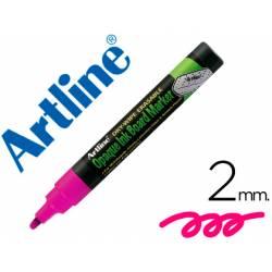 Rotulador Artline EPW-4 Marcador tipo tiza Color Violeta bolsa 4 rotuladores