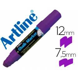 Rotulador Artline EPW-12 Marcador tipo tiza violeta