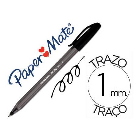 Bolígrafo Papermate Inkjoy 100 1 mm negro