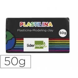 Plastilina Liderpapel negro Pequeña