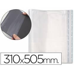 Forralibro polipropileno ajustable adhesivo 310 x 505 mm