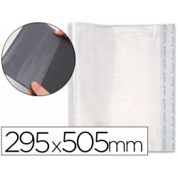 Forralibro polipropileno ajustable adhesivo medidas 290 x 505 mm