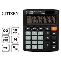 Calculadora sobremesa Citizen SDC-810-BN negra