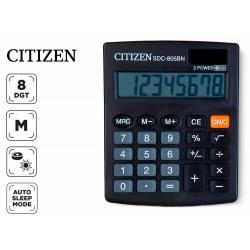 Calculadora sobremesa Citizen SDC-805BN negra