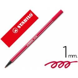 Rotulador Stabilo 68/50 color rojo oscuro 1 mm