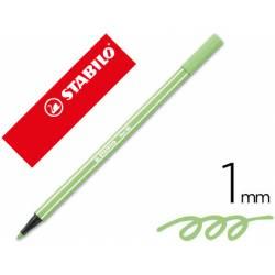 Rotulador Stabilo 68/13 color Verde hielo 1 mm