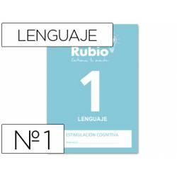 Cuaderno Rubio Lenguaje 1 Estimulación Cognitiva 20 páginas