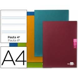 Libreta escolar Liderpapel Scriptus pauta 3.5 mm tamaño DIN A4
