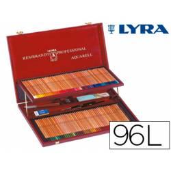 Lapices de colores Lyra Rembrandt acuarelable